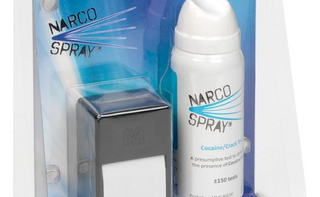 Narcospray™ Cocaine test